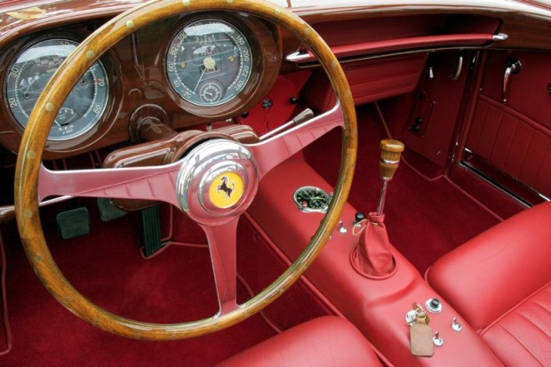 1955 375 America Coupe Speciale interior