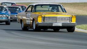 1966 Ford Galaxie piloted by Scott Rubin