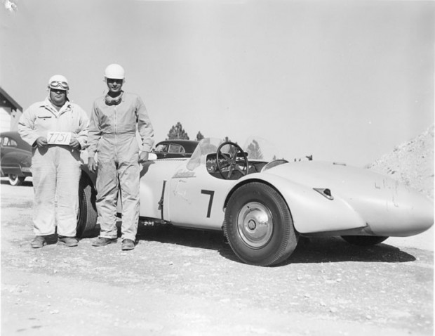 Tatum Special being raced as the 'Antelope' circa mid-1950s