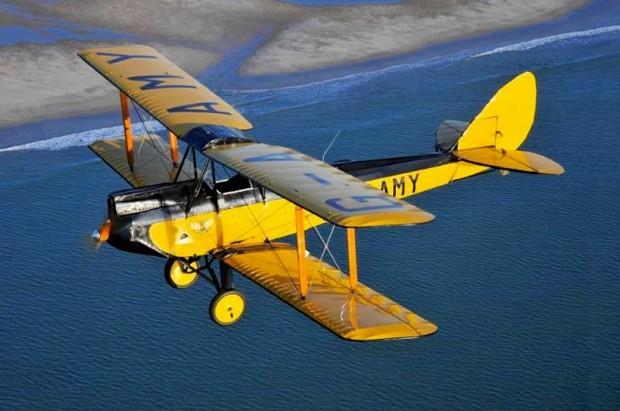 1929 American Moth Corporation De Havilland 60GMW Gipsy Moth biplane