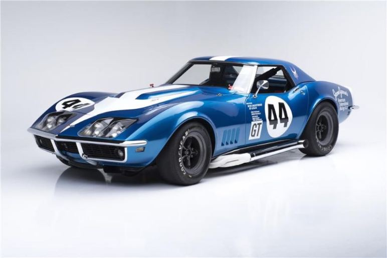 AIR 1968 Chevrolet Corvette Convertible L88 Race Car