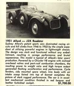 Allard J2X for sale