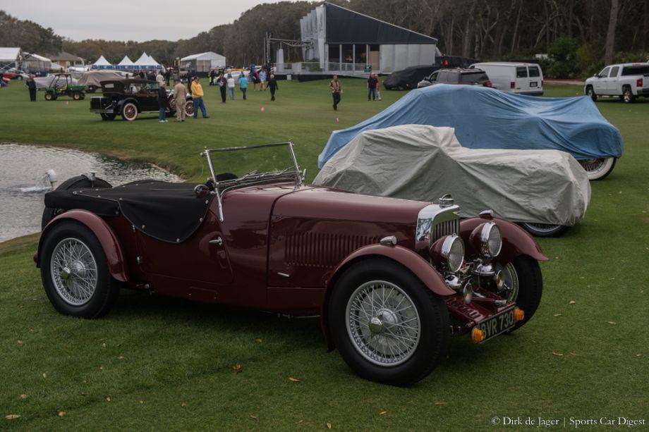 1934 Aston Martin 1 1/2 Litre Mk II Short Chassis