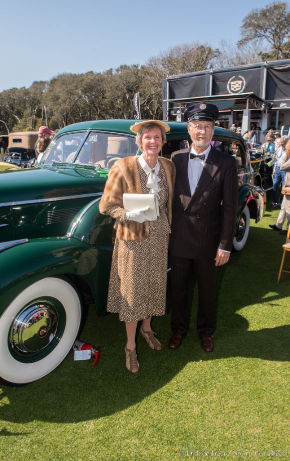 1939 Cadillac 7519F Divided Window Imperial Sedan