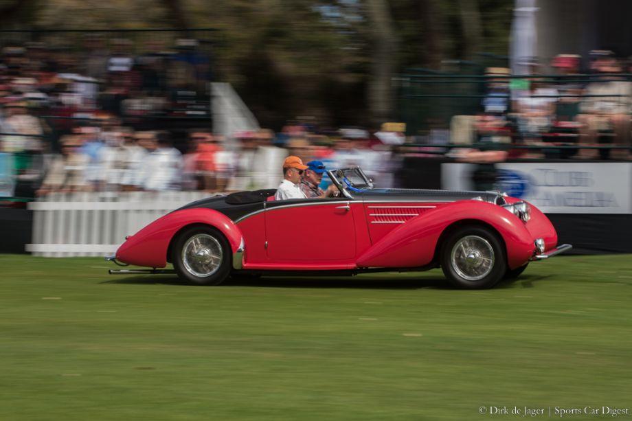 1937 Delahaye 135M Competition Figoni