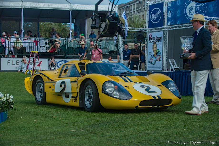 1967 Ford GT40 Mk IV, Chassis J-6