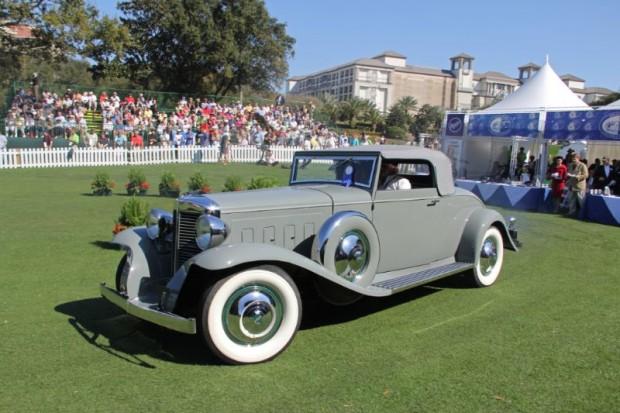 1931 Marmon V Sixteen Convertible Coupe