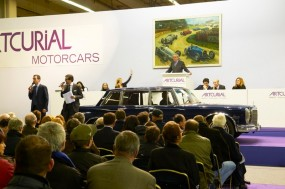 Artcurial Retromobile Salesroom Photo