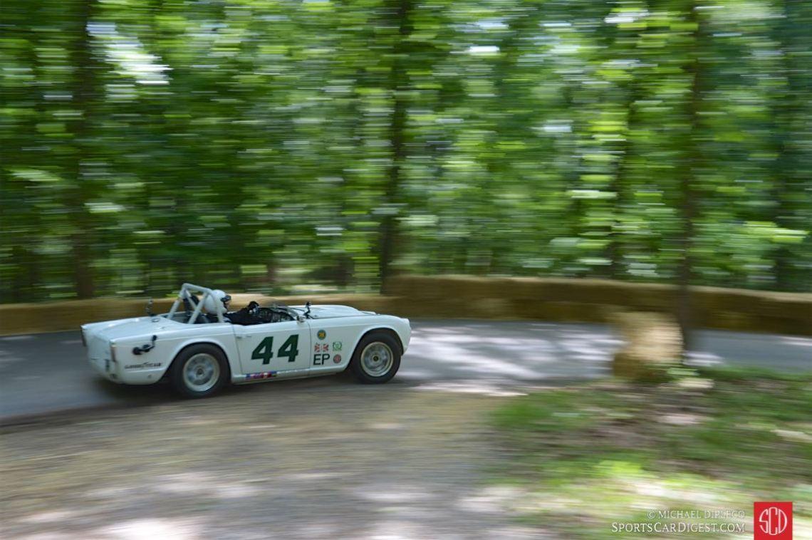 Wayne Carini - Group 44 Triumph TR4.