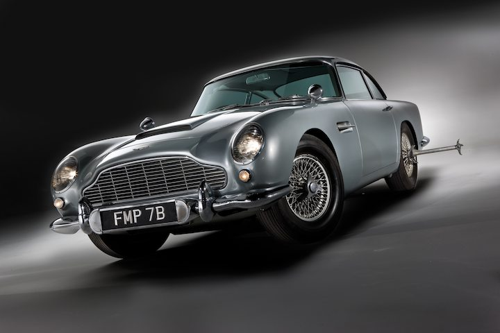 Aston Martin DB5 James Bond Movie Car   Front