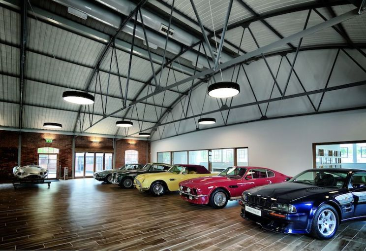Aston Martin Heritage Showroom