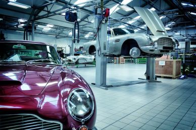 Aston Martin Works Restoration