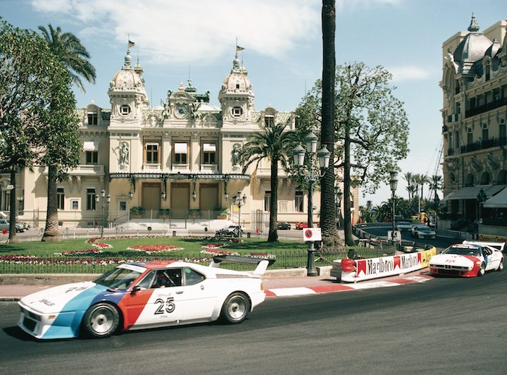 BMW M1 Procar race in Monaco