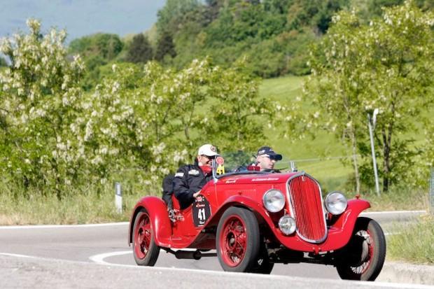 1934 Fiat Balilla 508 S at Mille Miglia