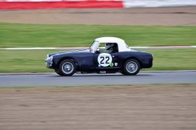 Ben Adams won class A1 in his unusual Turner Mk11