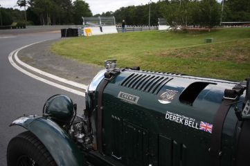 Blower Bentley on the Le Mans Circuit