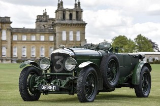 Bentley Speed Six Old Number Three