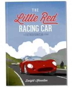 Book cover of The Little Red Racing Car