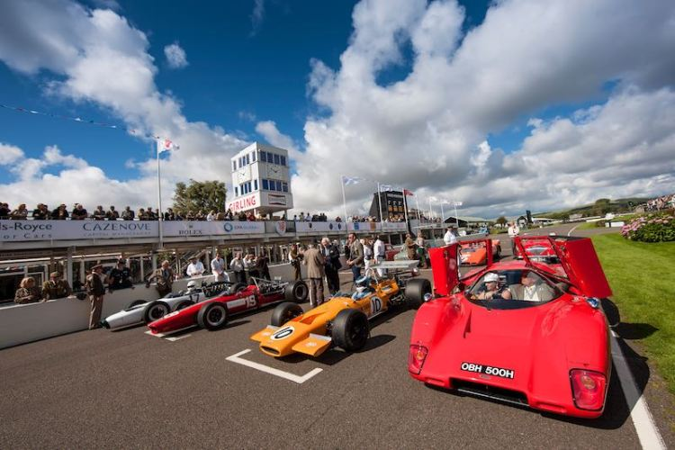 Bruce McLaren tribute was a highlight (photo: Drew Gibson)