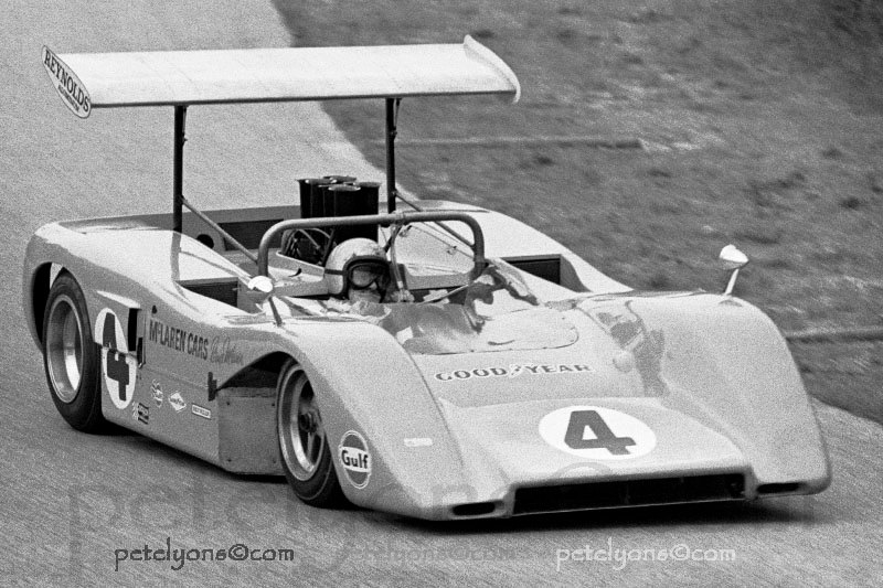 Can Am McLaren M8B Profile and s by Pete Lyons