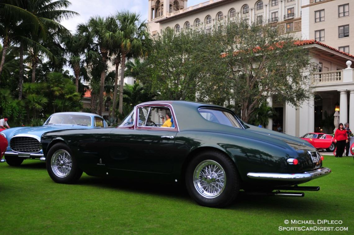 1955 Ferrari 375 America PF Coupe Serial No. 0355 AL.