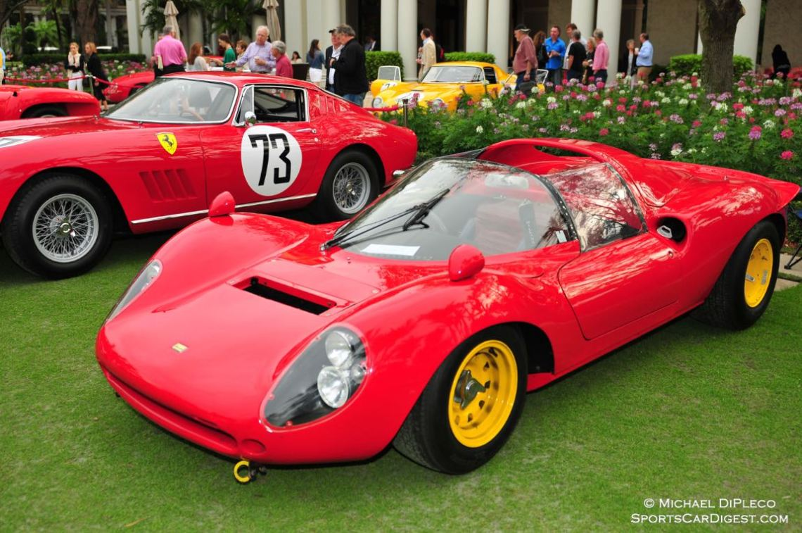 1965 Ferrari 166P/206P Dino. Serial No. 0834, Best of Show Competition