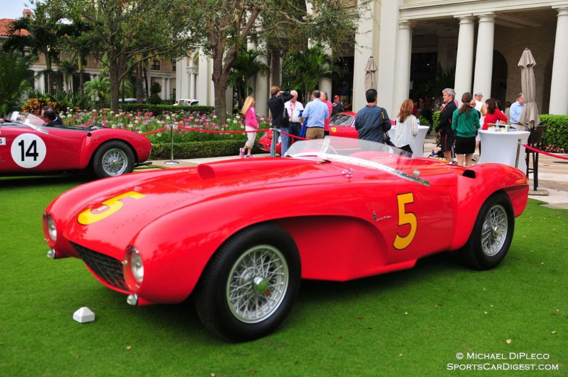1953 Ferrari 375 MM Spider, Body by Pinin Farina