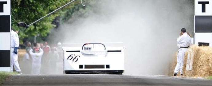 Chaparral 2J Fan Car at Goodwood Festival of Speed 2011