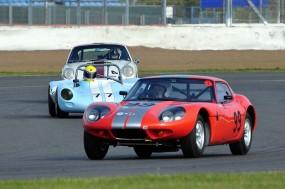 Chris Keen 1965 Marcos 1800GT 3rd in class