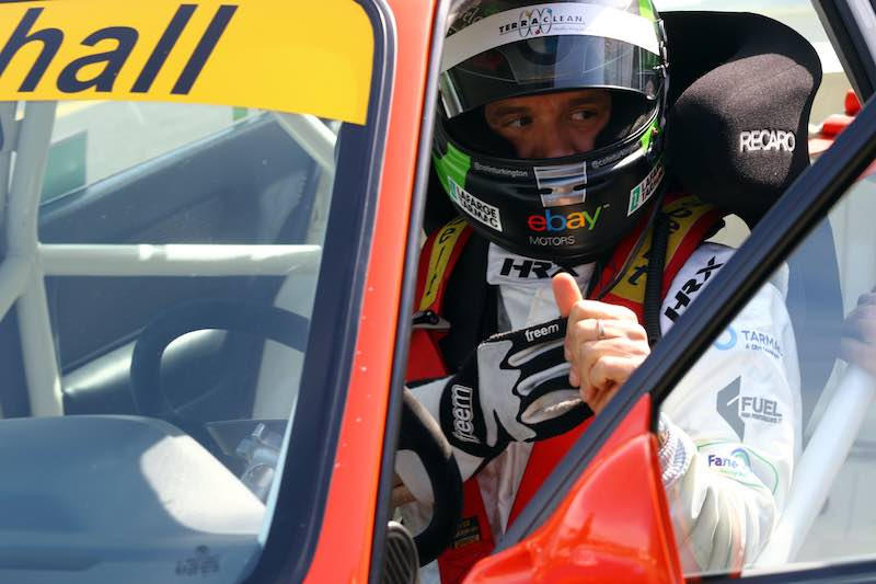 Colin Turkington in the Super Touring Car Trophy. Image: Matt Sayle
