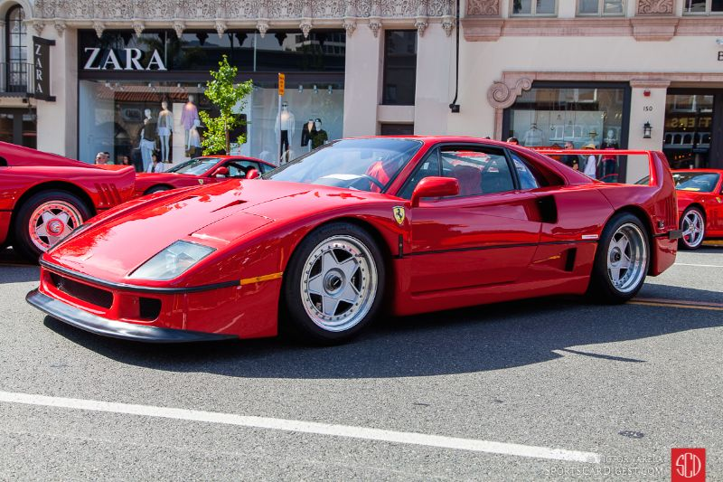 1990 Ferrari F40 owned by Raj Tandon