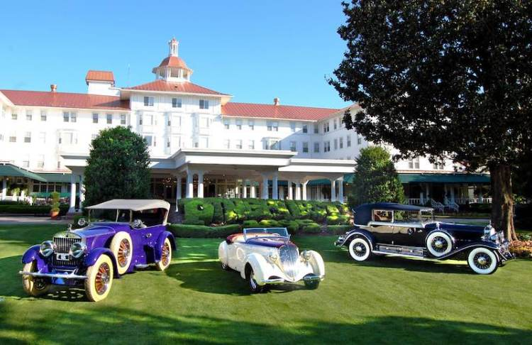 Best of Show Reunion at Pinehurst Concours