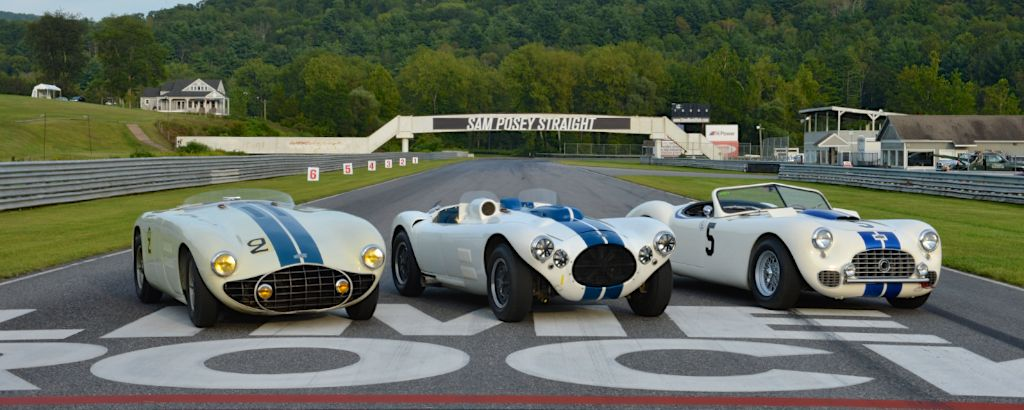 Cunningham Line-Up at Lime Rock Historic Festival