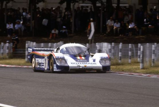 Le Mans 1982, Porsche 956 with Jacky Ickx and Derek Bell (1st overall)