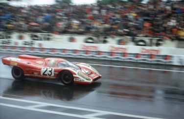 1970 Le Mans winning Porsche 917 K driven by Hans Herrmann and Dick Attwood