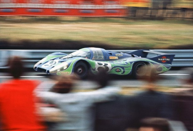 Le Mans 1970 - Porsche 917 LH of Willi Kauhsen and Gerard Larrousse finished 2nd
