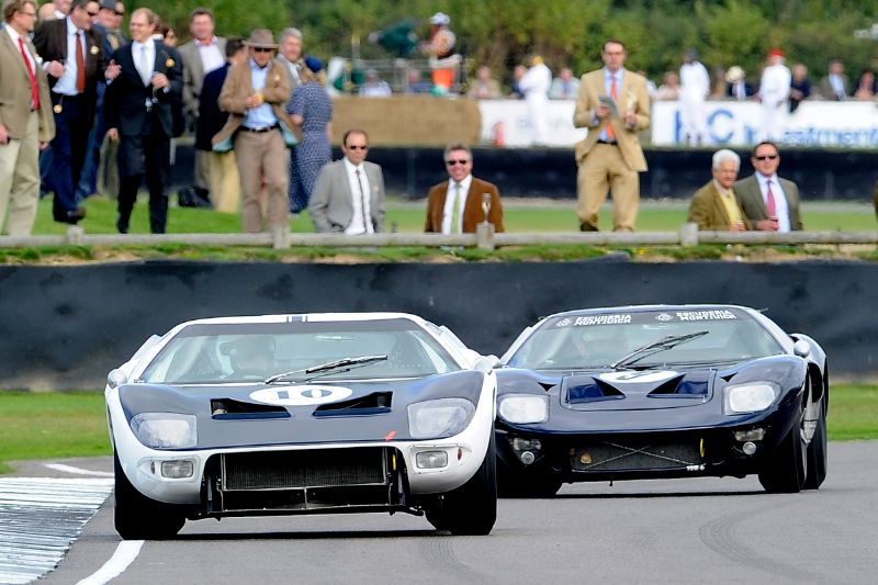 Ford Gt40 Race Featured At Goodwood Revival 2013