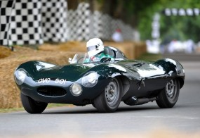 Jaguar D-Type at Goodwood Festival of Speed