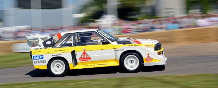 Group B Audi Quattro at Goodwood Festival of Speed