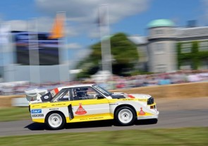 Audi Quattro at Goodwood Festival of Speed 2011