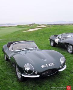 Jaguar XKSS Class at 2010 Pebble Beach Concours