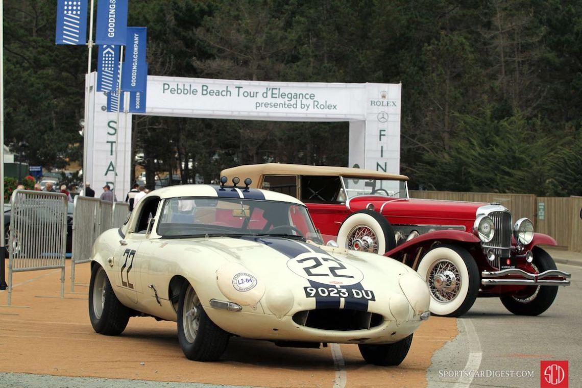 Ex-Briggs Cunningham Jaguar E-type Lightweight