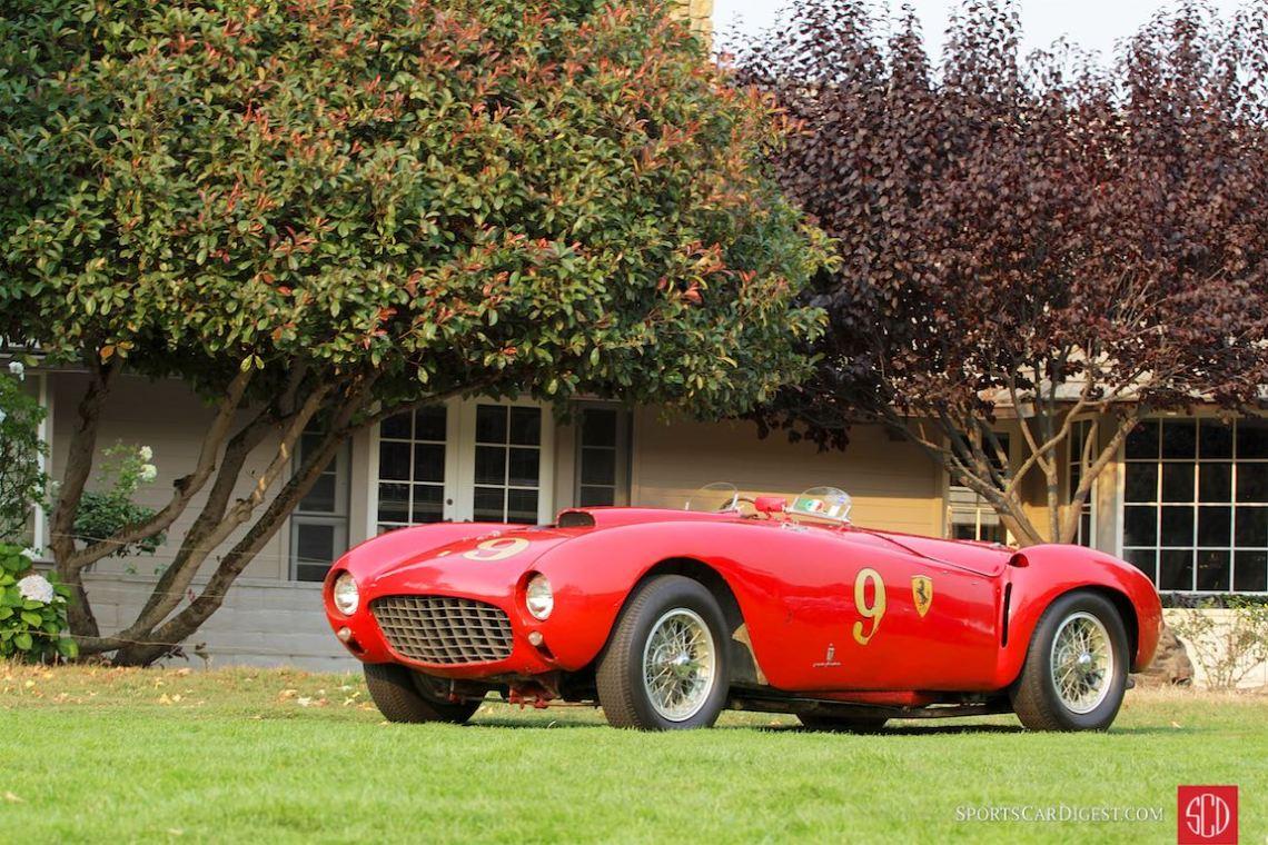 Best of Show winning 1953 Ferrari 375 MM Pinin Farina Spider
