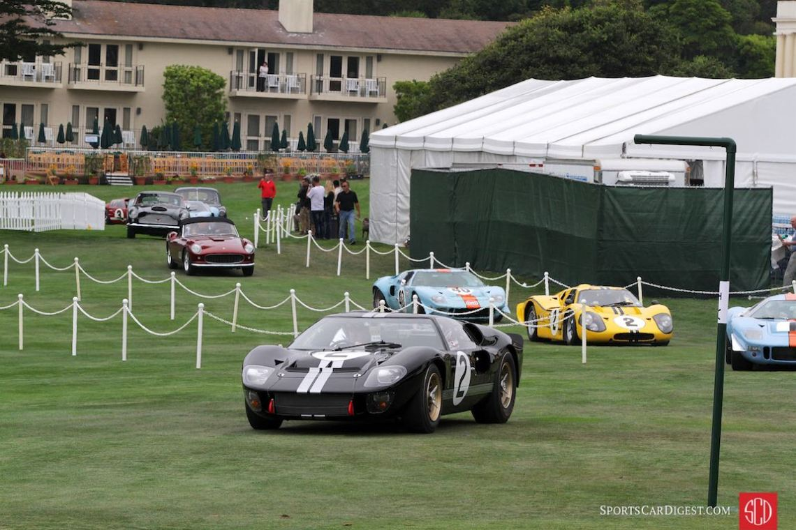 24 Hours of Le Mans winning 1966 Ford GT40 P/1046 Mk II