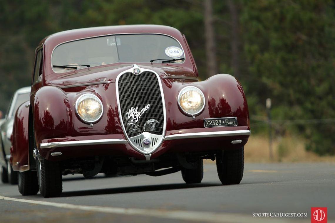 1939 Alfa Romeo 6C 2500 SS Touring Berlinetta