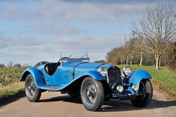 1932 Alfa Romeo 8C 2300, chassis 2211079 (photo: Tim Scott)
