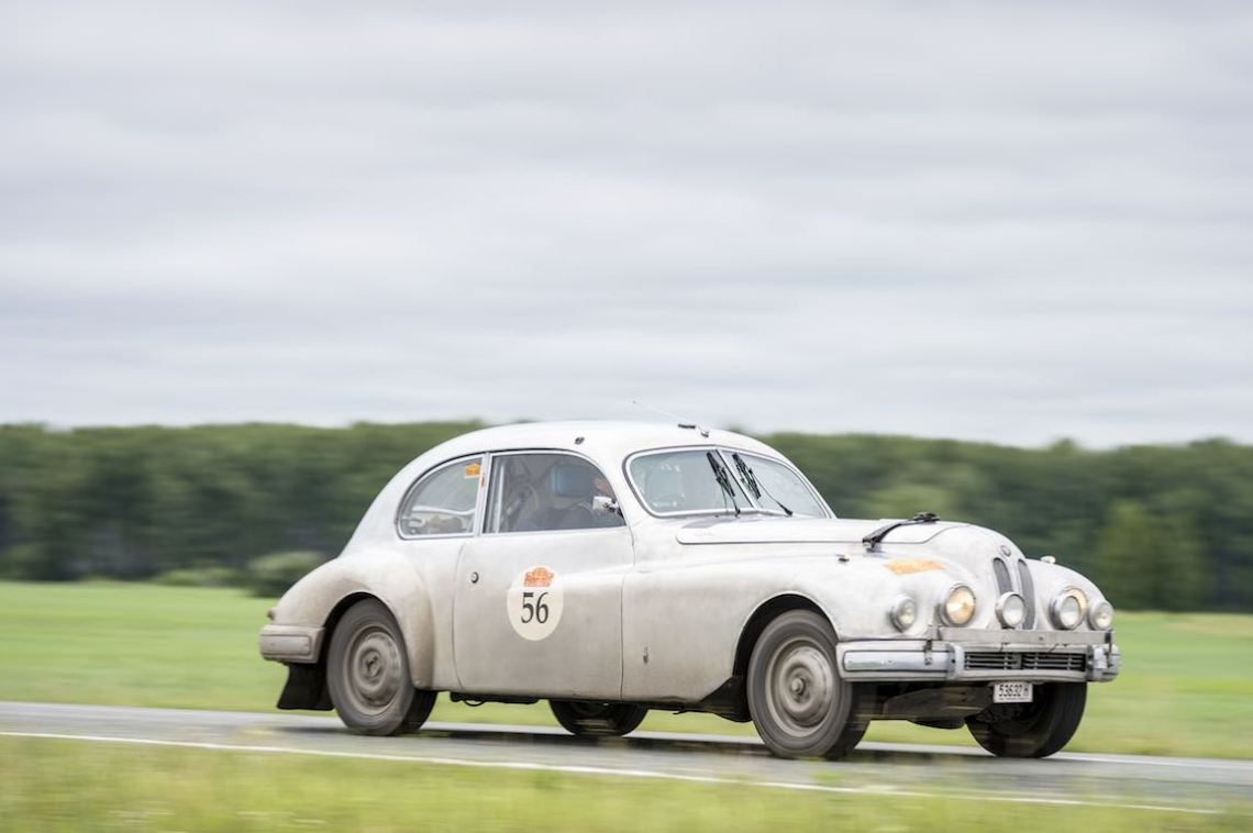 Car 56. Paul Hickman(AUS) / Sebastian Gross(AUS)1954 - Bristol 403 1977, Peking to Paris 2016., Peking to Paris 2016. Day 16. Omsk - Tyumen