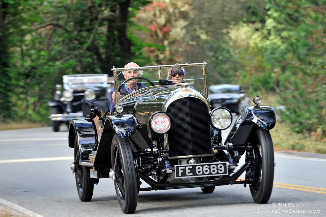 1926 Bentley 3 Litre Speed Model Vanden Plas Tourer