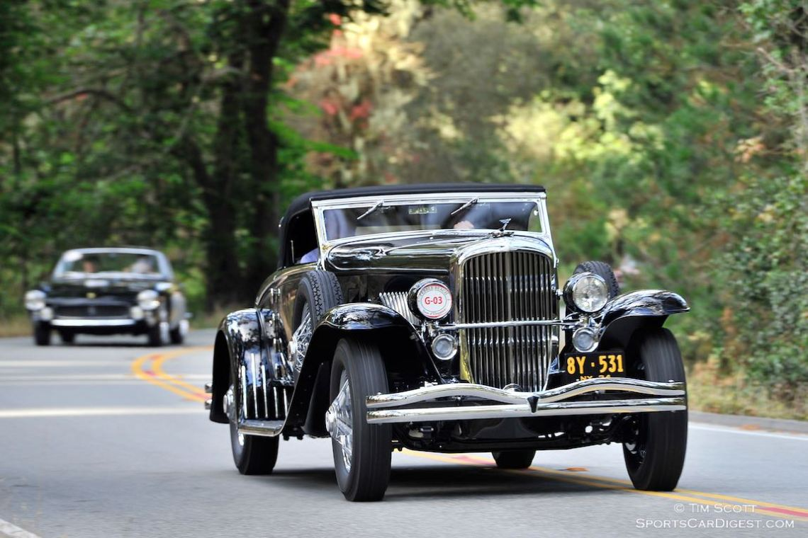 1934 Duesenberg J Walker-LaGrande Convertible Coupe