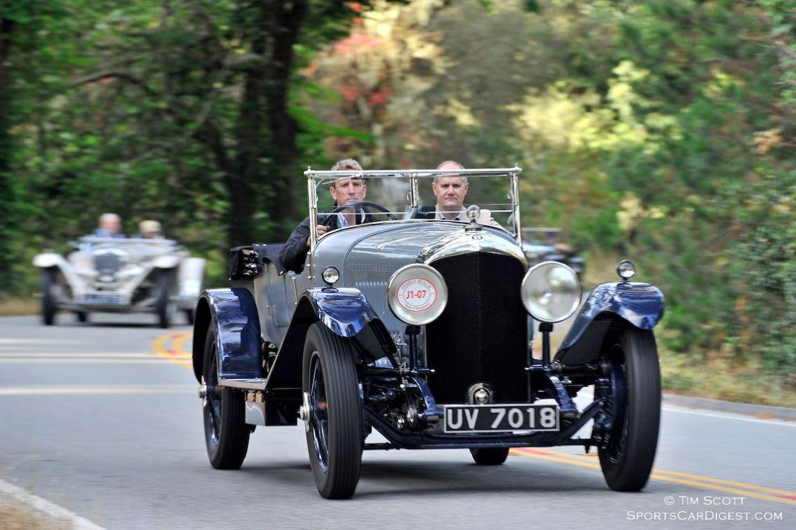 1929 Bentley 4 1/2 Litre Vanden Plas Four Seater